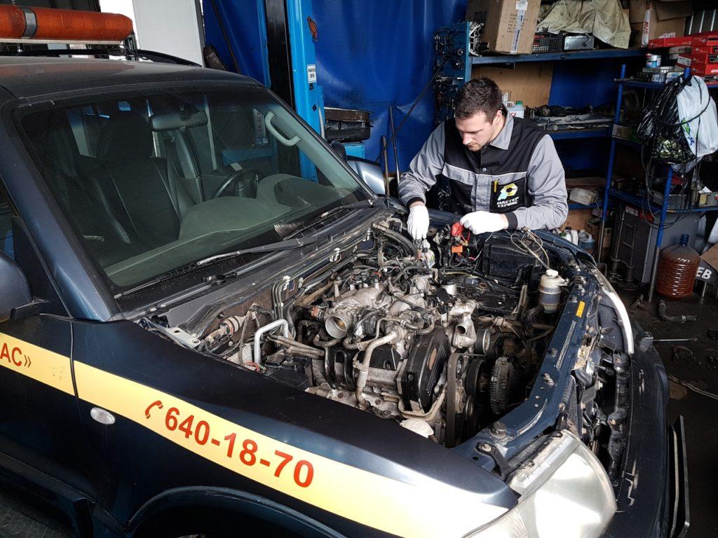 ремонт двигателя в автосервисе
